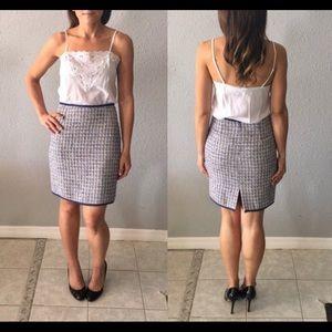 Vintage Tweed Mini Skirt by Georgiou